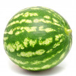 Water melon isolated on a white — Stock Photo