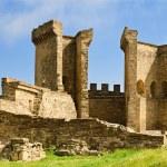 Ruins of The Genoa Fortress in Sudak — Stock Photo #25018673