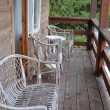 Постер, плакат: Cottage interior balcony Country style