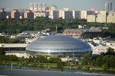 "Basketball Palace of Sports"" Dynamo ""in Krylatskoye, in Moskvoretsky Park. — Stock Photo"