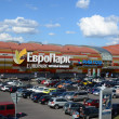 "Shopping and entertainment center ""Europark"" in the West of the capital, Moscow, Rublevskoe, 62, 09,08,2012 - Stock Photo"