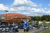 """Shopping and entertainment center """"Europark"""" in the West of the capital, Moscow, Rublevskoe, 62, 09,08,2012 — Stock Photo"""