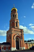 """Ascension of David desert"" - a functioning monastery in Moscow region. Gate tower. — Stock Photo"