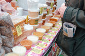 Honey fair in Moscow, Kolominskoe — Stock Photo