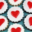 Heart Cookies — Stock Photo #20142941