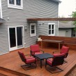 Backyard Deck — Stock Photo