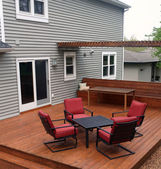Backyard Deck — Stock Photo