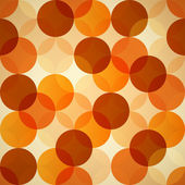 Seamless Abstract Circles Backgrounds — Stock Vector