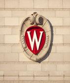 University of Wisconsin Madison School Crest — Stock Photo