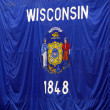 Wisconsin Flag — Stock Photo #41171677