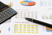 Business and financial — Stock Photo