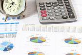 Financeira e de negócios — Fotografia Stock