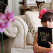 Stock Photo: Bilingual Bible