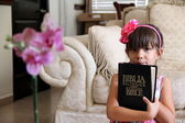 Bilingual Bible — Stock Photo