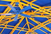 Ventilateur bleu — Photo