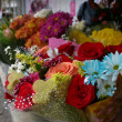 Stock Photo: Flower stand