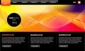 Web Design Website Vector Elements — Stock Vector