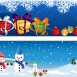 Christmas headers — Stock Vector #15443085
