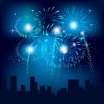 πυροτεχνήματα — Διανυσματικό Αρχείο