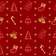 Christmas seamless pattern — Stock Vector #37179753