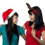Celebrate Christmas Together — Stock Photo #12099226