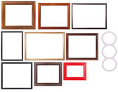 Set Of Picture Frame — Stockfoto