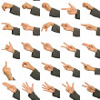 Hand Signs Language — Stock Photo