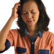 Stock Photo: AsiWomGet Headache