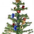 Fake Christmas Tree — Stock Photo