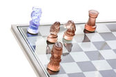 Checkmate on Chess Game — Stockfoto