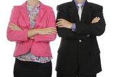 Two Business Couple — Stock Photo