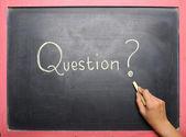 Question Handwriting — Stock Photo