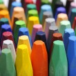 Stacks Of Crayon — Stock Photo