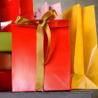 A Lot Of Gift Boxes — Stock Photo