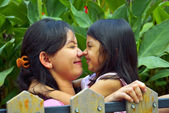 Mother And Daughter Play Together — Stock Photo