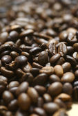 Brown roasted coffee beans — Zdjęcie stockowe
