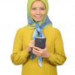 Modern moslem woman in hijab — Stock Photo #49438053