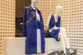 Showcase of fashion store, Milan — Stock Photo