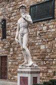 Michelangelo's David statue — Stock Photo