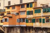 Punto Vecchio, bridge in Florence, Italy — Stock Photo