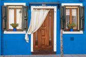 Colorful house in Burano island, Venice — Stock Photo