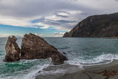 Monterosso al Mare Beach, Cinque Terre, Italy. — Stock Photo