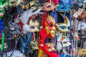 Venetian carnival masks, Venice, Italy — Stock Photo