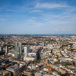 Frankfurt on the Main from bird's eye view — Stock Photo #47312319