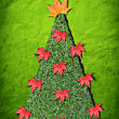 Natural Christmas tree — Stock Photo