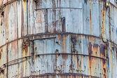 Rostige grunge industrial metal hintergrund — Stockfoto