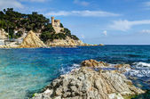 Mediterranean sea at the Costa Brava — Stock Photo