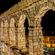 Stockfoto: Aqueduct of Segovia, Spain