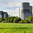 Disconnected nuclear power plant, Germany — Stock Photo