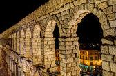 The Aqueduct of Segovia, Spain — Stock Photo
